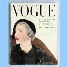 Vogue Magazine - 1950 - November